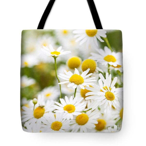 Chamomile Flowers Tote Bag