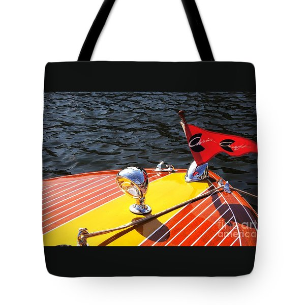 Chris Craft Continental Tote Bag