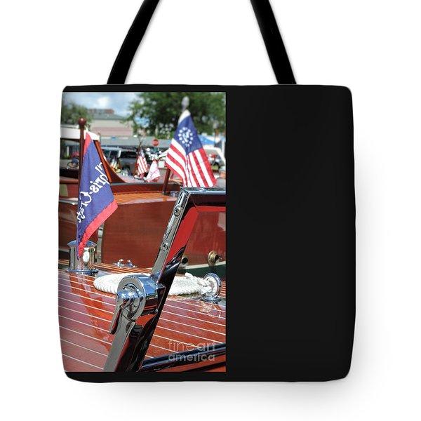 Chris Craft Runabout Tote Bag
