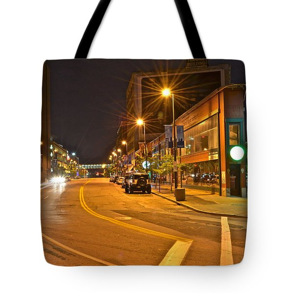 Cleveland Ohio Tote Bag by Frozen in Time Fine Art Photography