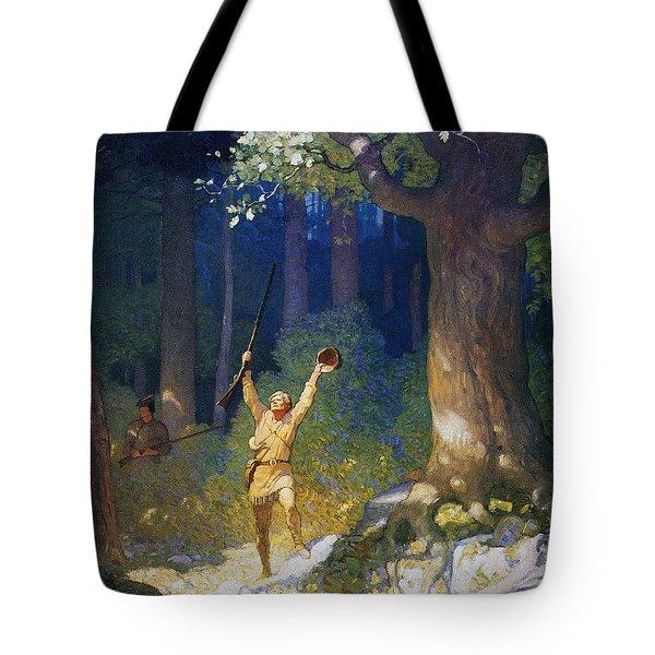 Cooper: Deerslayer, 1925 Tote Bag by Granger