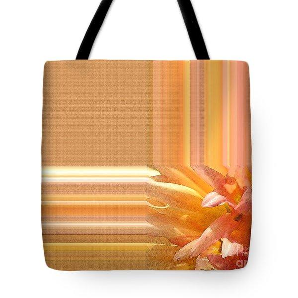 Dahlia named Intrepid Tote Bag by J McCombie
