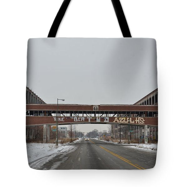 Detroit Packard Plant Tote Bag