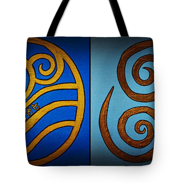 4 Elements In Cylantyca Tote Bag