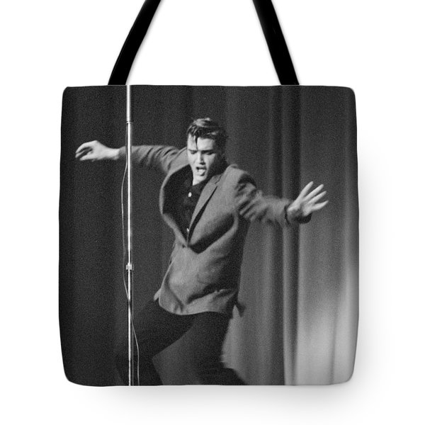 Elvis Presley 1956 Tote Bag by The Harrington Collection