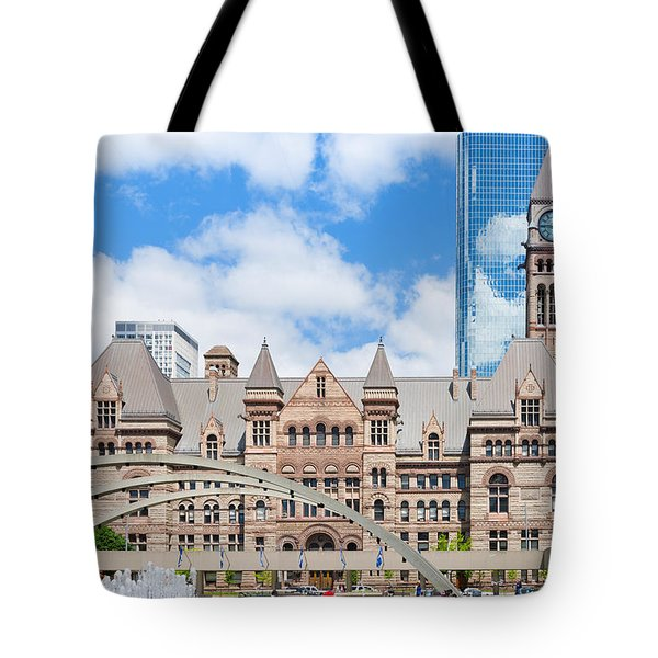 Facade Of A Government Building Tote Bag
