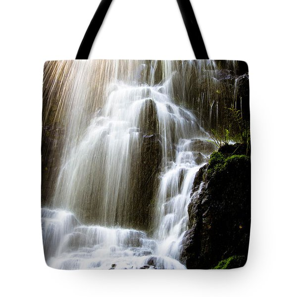 Tote Bag featuring the photograph Fairy Falls by Patricia Babbitt