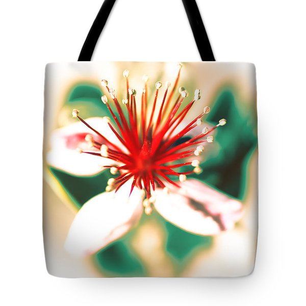 Tote Bag featuring the photograph Flower by Gunter Nezhoda