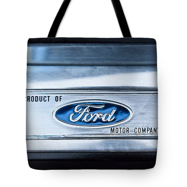 Powered By Ford Emblem -0307c Tote Bag by Jill Reger
