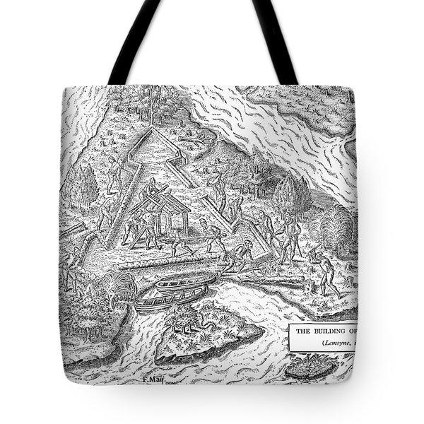 Fort Caroline, 1564 Tote Bag by Granger