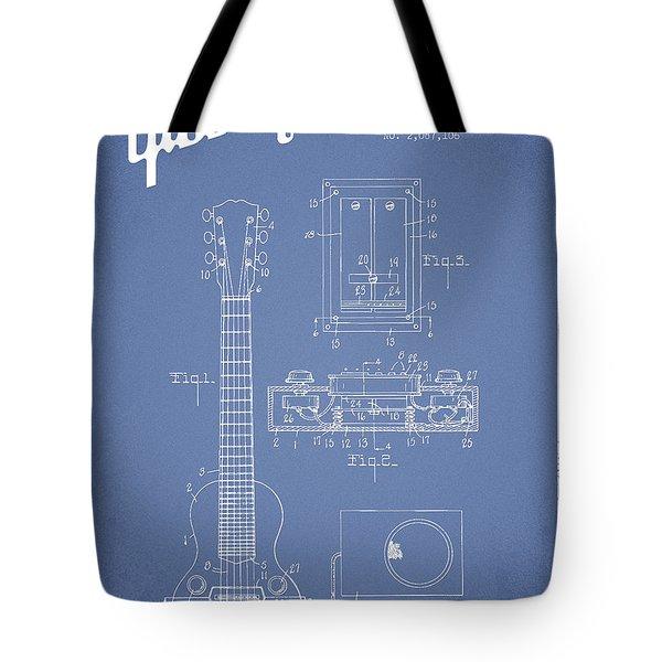 Gibson Guitar Tote Bags | Fine Art America