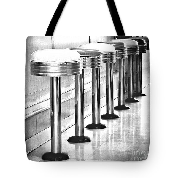 Have A Seat Tote Bag by Peggy Hughes