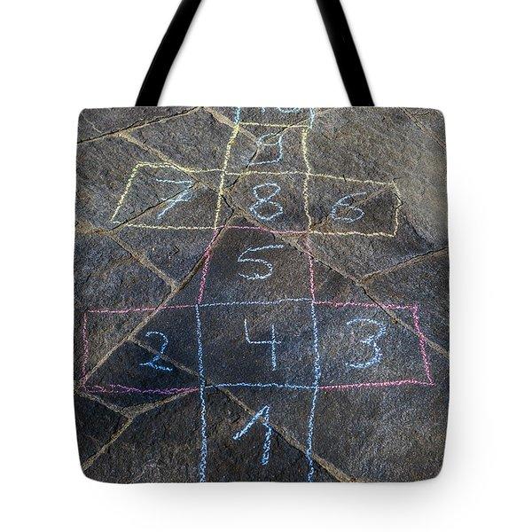 Hopscotch Tote Bag by Joana Kruse