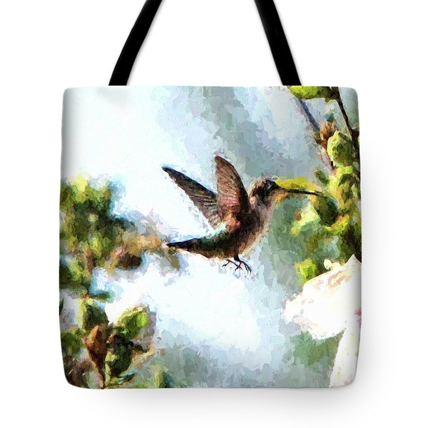 Hummingbird Tote Bag by John Freidenberg