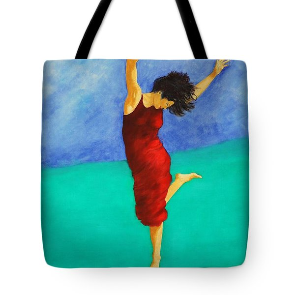 Jump Of Joy Tote Bag