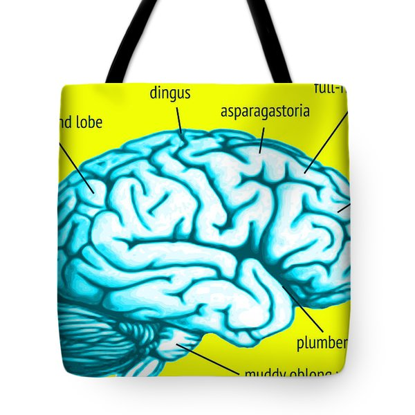 Learn About Your Brain Tote Bag by Del Gaizo