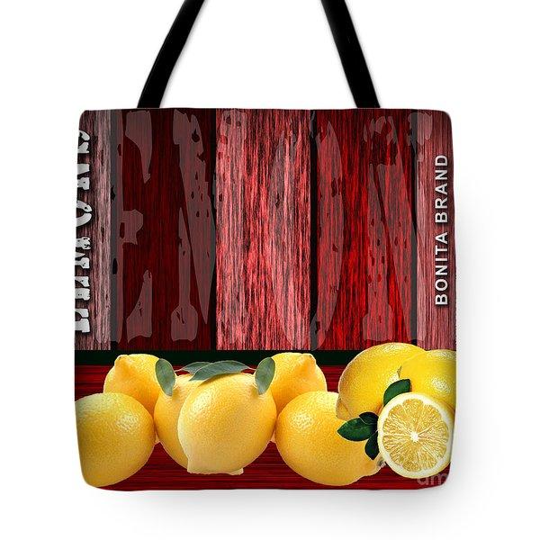 Lemon Farm Tote Bag by Marvin Blaine