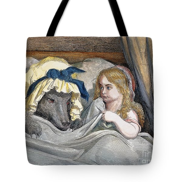 Little Red Riding Hood Tote Bag by Granger