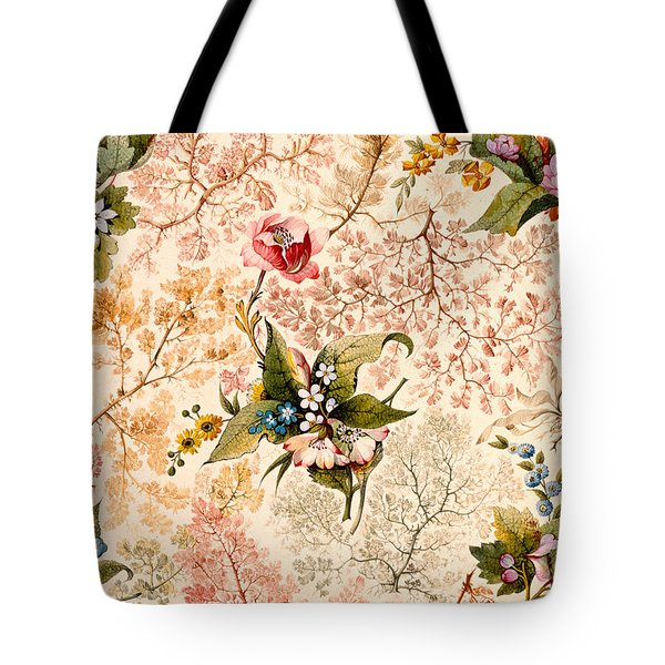 Marble End Paper Tote Bag by William Kilburn