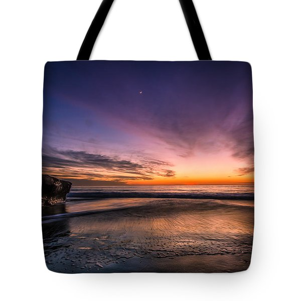 4 Mile Beach Sunset Tote Bag