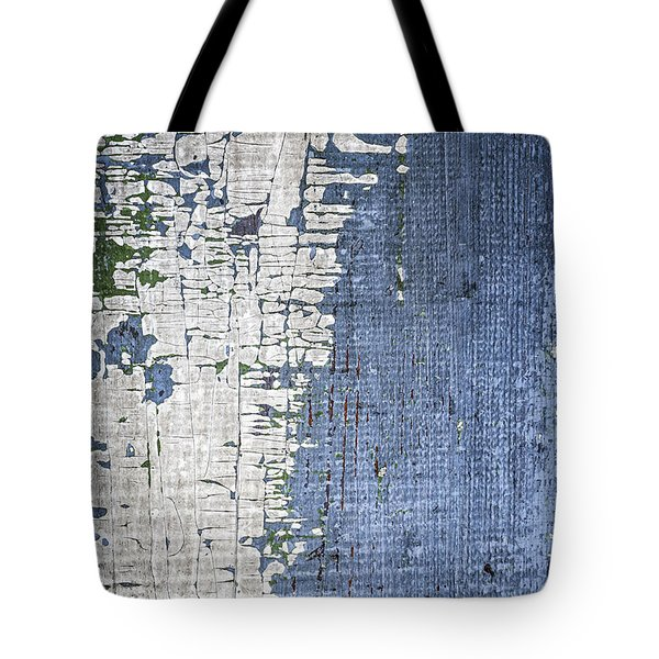 Old Painted Wood Abstract No.4 Tote Bag