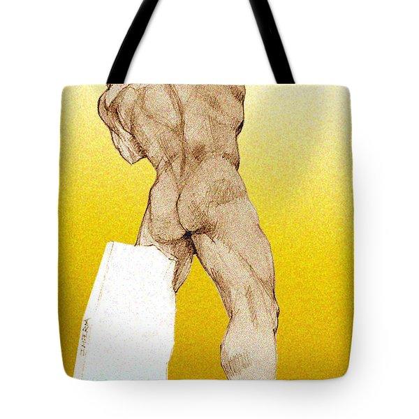 Olympic Athletics Discus Throw Tote Bag