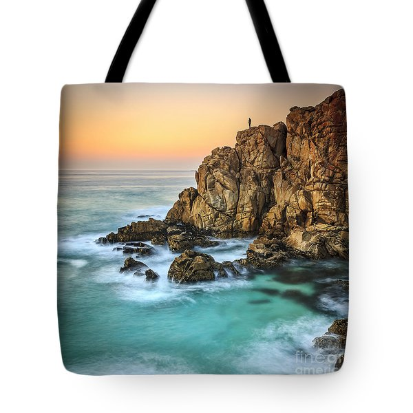Penencia Point Galicia Spain Tote Bag