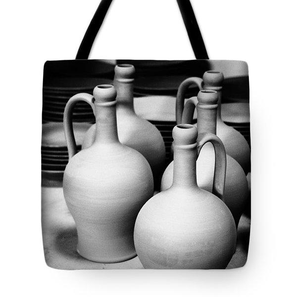Pottery Tote Bag by Gaspar Avila