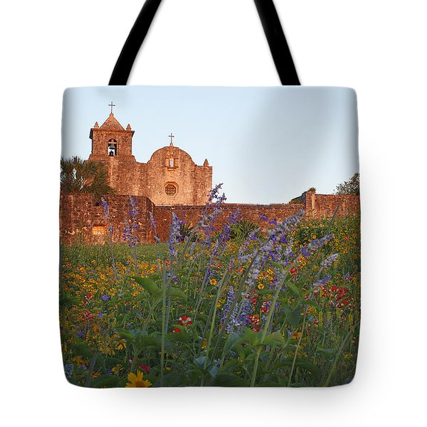 Tote Bag featuring the photograph Presidio La Bahia 2 by Susan Rovira