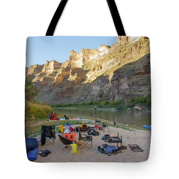 Rafting In Desolation And Gray Canyons Tote Bag