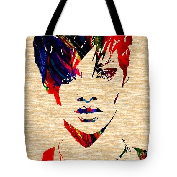Rhianna Tote Bag by Marvin Blaine