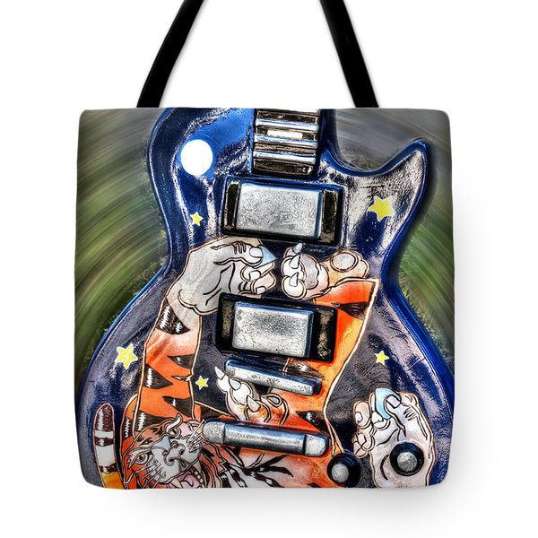 Rock N Roll Collection Tote Bag by Deborah Klubertanz