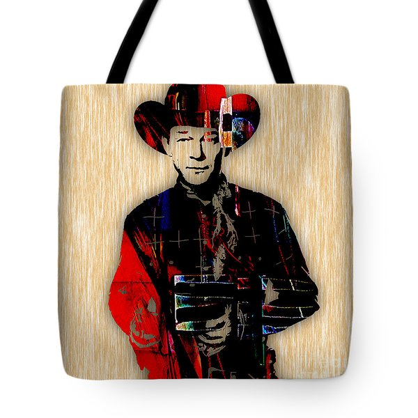 Roy Rogers Collection Tote Bag by Marvin Blaine
