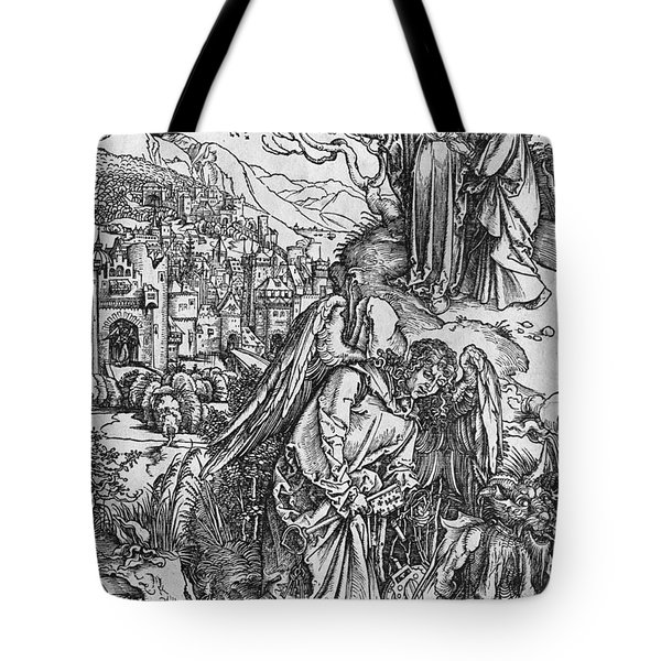 Scene From The Apocalypse Tote Bag