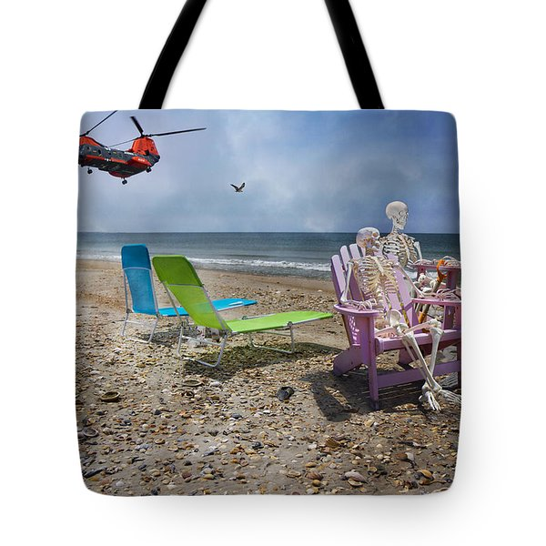 Search Party Tote Bag by Betsy Knapp