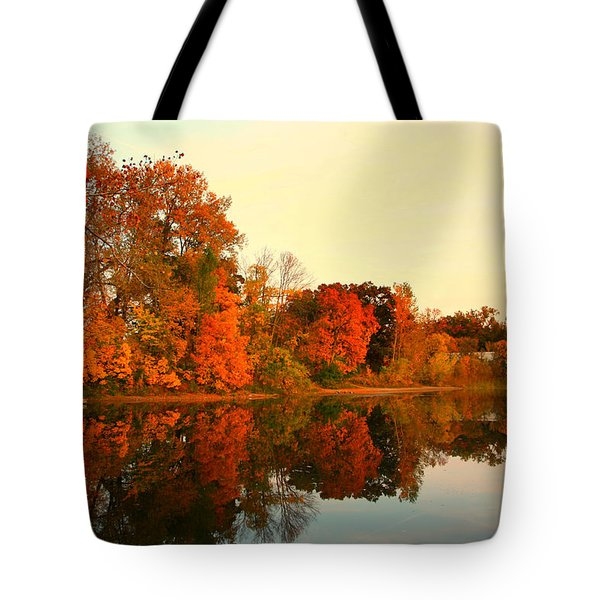 Shady Oak Lake  Tote Bag