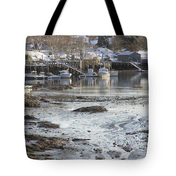 South Bristol On The Coast Of Maine Tote Bag by Keith Webber Jr