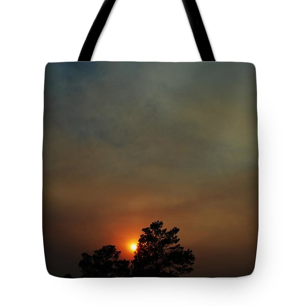 #sunset Tote Bag by Becky Furgason