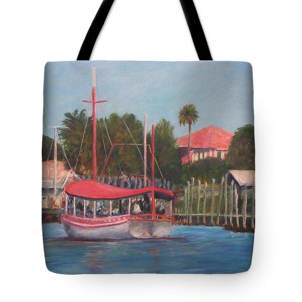 Tarpon Springs Florida Tote Bag