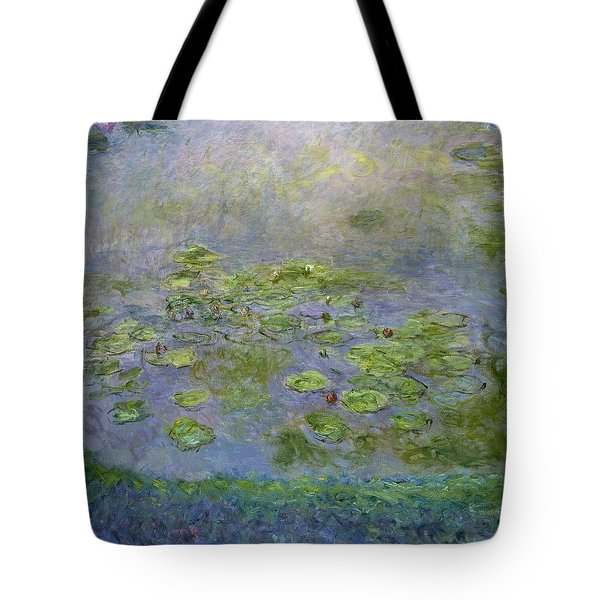 The Water Lilies Tote Bag