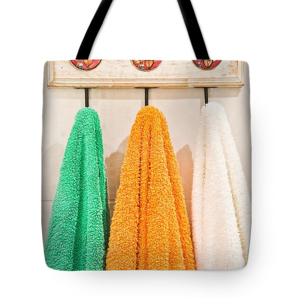 Towels Tote Bag
