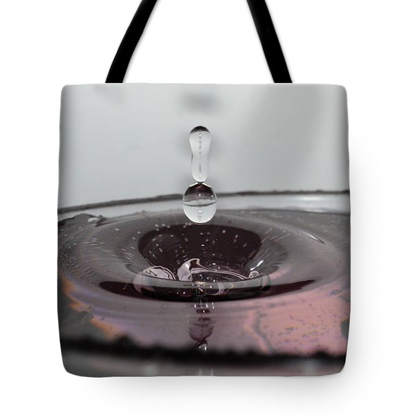 4 Water Drops Tote Bag