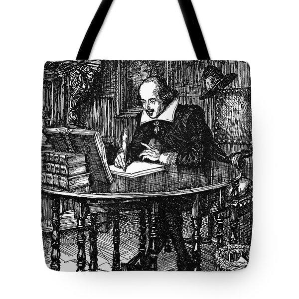 William Shakespeare (1564-1616) Tote Bag