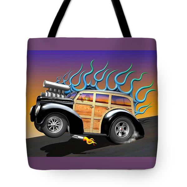 '40 Ford Woody Tote Bag