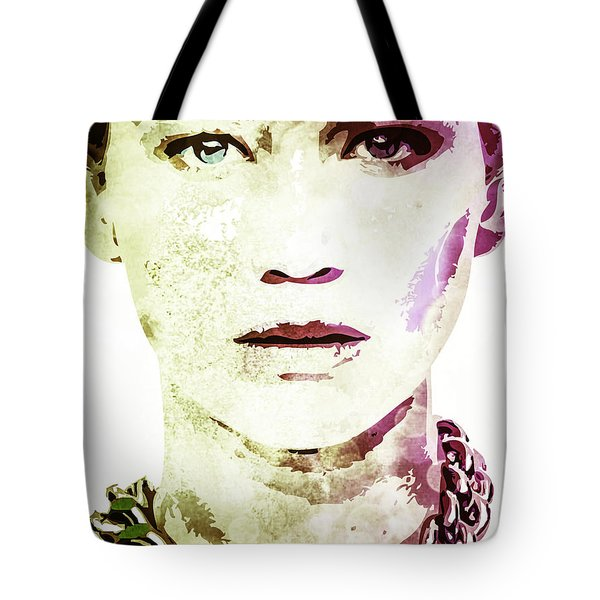 Jennifer Lawrence Tote Bag