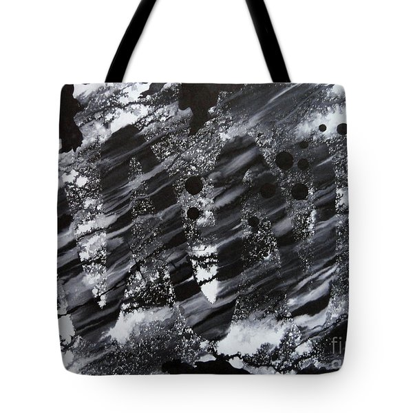 Curve Line Tote Bag