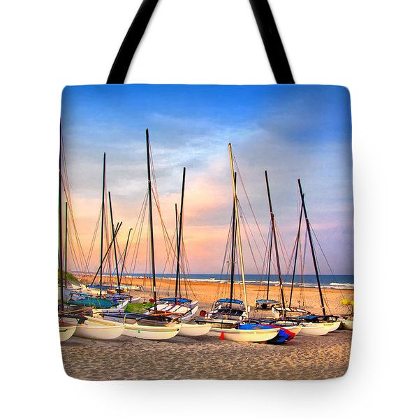 41st Street Sailing Beach Tote Bag