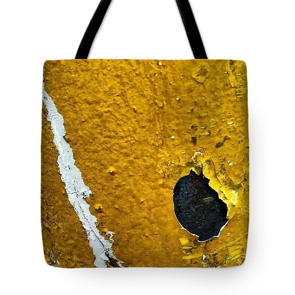 Yellow Post 3 Tote Bag