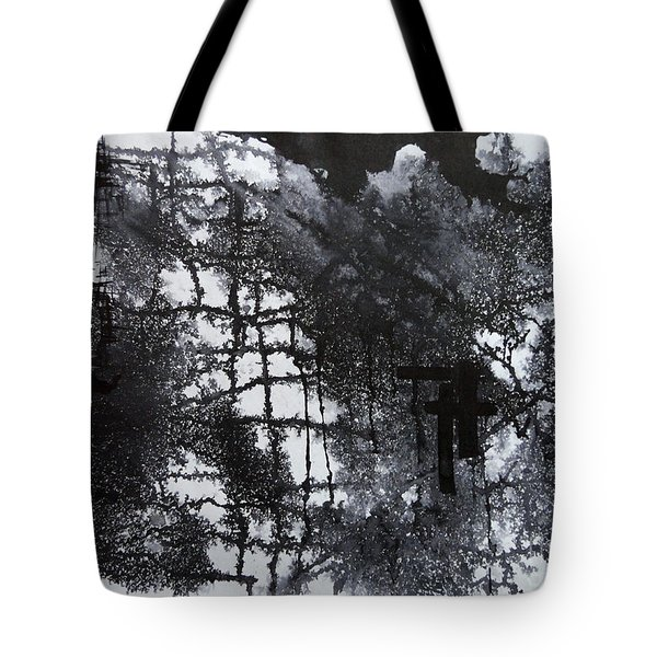 Two Circle Tote Bag