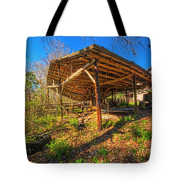 Tote Bag featuring the photograph 4257-69-205 by Lewis Mann